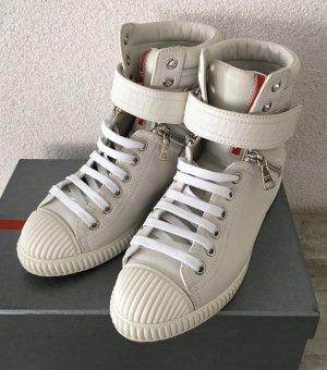 Prada Sneaker stringata bianco