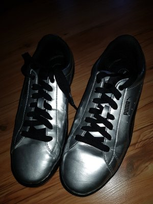 Puma Sneakers black-silver-colored
