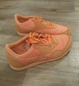 Sneaker Reebok Orange Sportschuhe