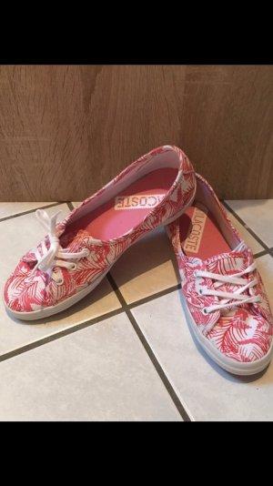 Sneaker rosa/weiß Lacoste