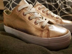 Sneaker rosegold 37