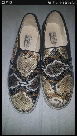 Sneaker Schlangen Muster