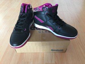 Sneaker Schuhe Reebok New Crew *Gr. 39* Schwarz Lila NEU