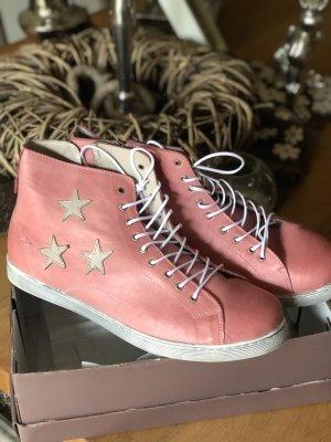 Andrea Conti Sneaker stringata rosa