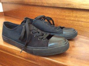 Sneaker schwarz von Primark Grösse 41