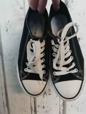 sneaker schwarz weiss