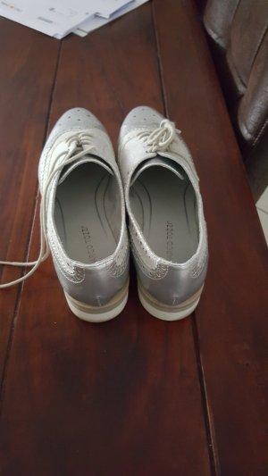Sneaker silber von Marco Tozzi 2 mal getragen Grösse 41