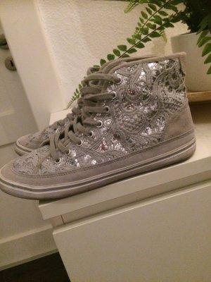 Sneaker  Silver Spitze