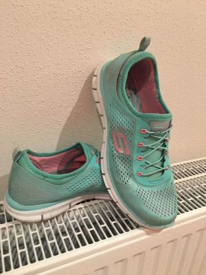 Sneaker skechers grün Mint rosa Gr 41 top Zustand