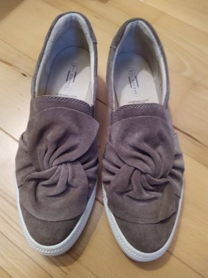 5th Avenue Slip-on Sneakers white-grey brown