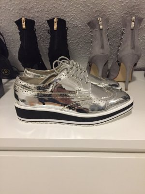 Sneaker slipper Silber Blogger