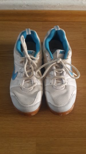 Nike Basket blanc-bleu azur