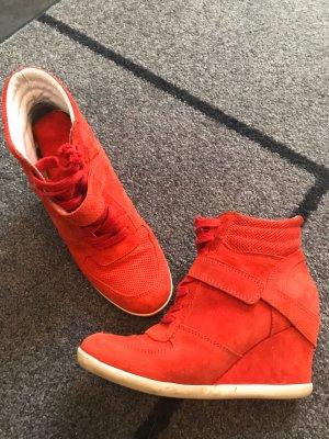 Heel Sneakers red
