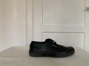 Sneaker Superga, Leder, schwarz, Gr. 39