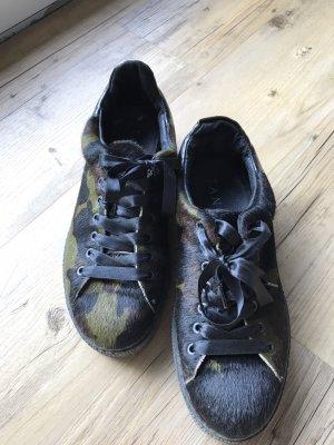 Sneaker Tango, Gr. 39, Fell tarnfarben, kaum getragen