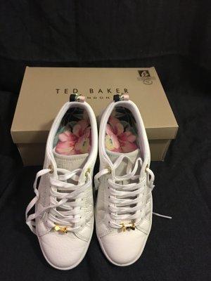 Sneaker, Ted Baker, weiß mit Schleife, Größe 37