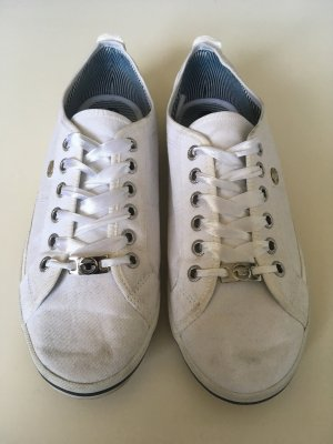 Tom Tailor Scarpa stringata bianco