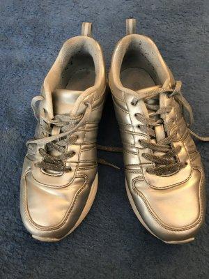 Sneaker/Turnschuhe Silber - Grösse 37 - von Deichmann/Graceland