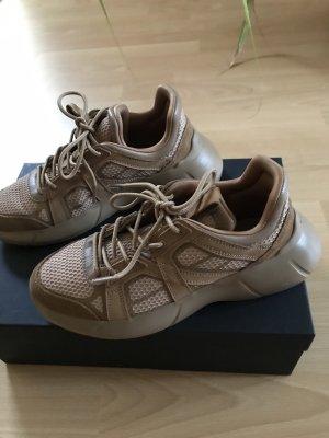 "Sneaker Ugly Dad ""Uterqüe"" chestnut, Gr. 37"