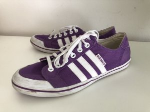 Adidas NEO Lace-Up Sneaker lilac-white mixture fibre