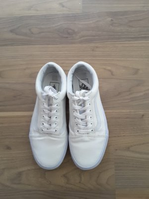 Vans Lace-Up Sneaker white