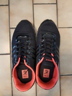 Adidas NEO Basket à lacet noir