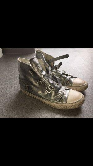 Sneaker von ASH (a.s.h.) in Silber 40