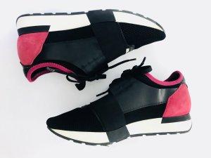 Sneaker von Balenciaga Race Runner, pink-schwarz, Gr. 40,
