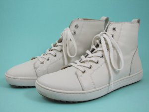 Birkenstock High Top Sneaker natural white leather