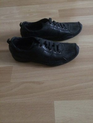 Carnabys Lace-Up Sneaker black leather