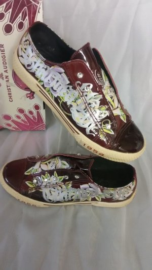♥ Sneaker von Christian Audigier/ ED Hardy - Lackleder Gr. 39 ♥ TOP- Zustand