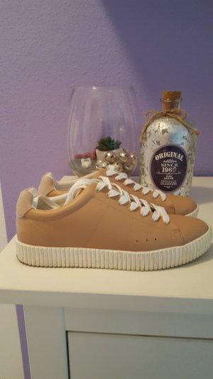 sneaker von esprit in beige