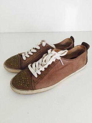 Sneaker von frye, braun-bronze, Gr. 39, Leder