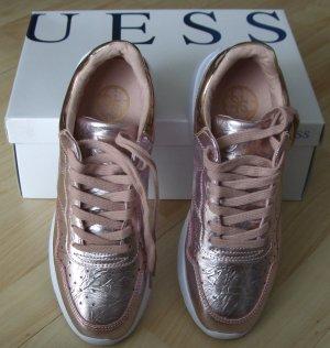 Sneaker von Guess - Metallic-Look - Gr. 38