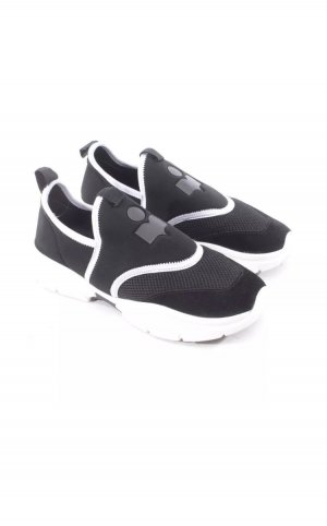 Isabel Marant Slip-on Sneakers black-white