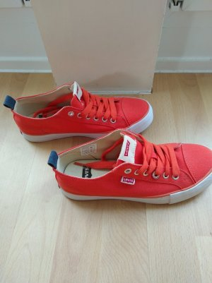 Sneaker von Levis in Orange Gr. 37