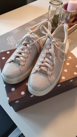 Liu jo Lace-Up Sneaker white-silver-colored