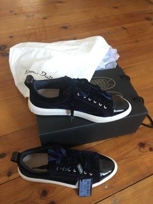 Massimo Dutti Lace-Up Sneaker dark blue-blue