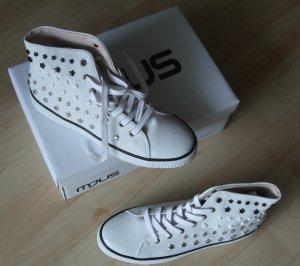 Sneaker von Mjus  - Leder mit Nieten