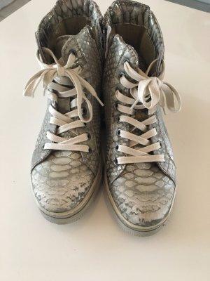 Mjus Sneaker argento Pelle