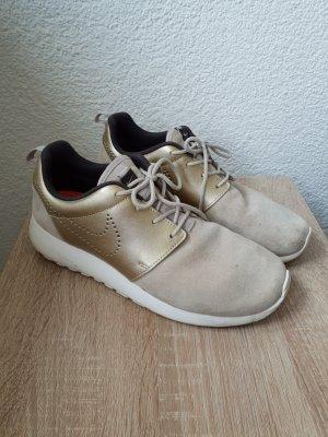 Sneaker von Nike beige/gold