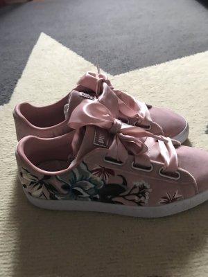 Puma Sneakers met veters rosé