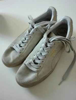 Sneaker von Puma in Wildlederoptik in beige Gr. 40