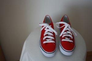 Ralph Lauren Sneakers met veters rood Katoen