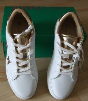 Sneaker von Rapid Soul  - Blüten in Gold