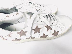 Sneaker von Saint Laurent, Weiß - Lila,  Grösse 40