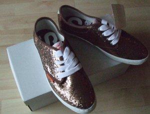 Sneaker von Superdry bronze - Gr. 39