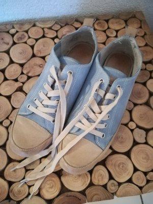 Tamaris Sneakers light blue-beige leather