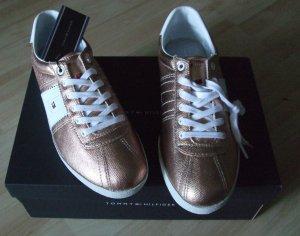 Sneaker von Tommy Hilfiger  - bronze - TOP!