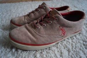 Sneaker von US Polo ASSN Gr.41 Washed Leder